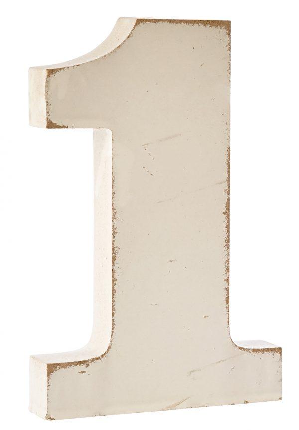 Numeri in legno 0-9 ed &