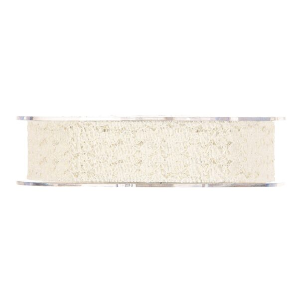 Nastro in pizzo Flower lace 21mm x 10mt