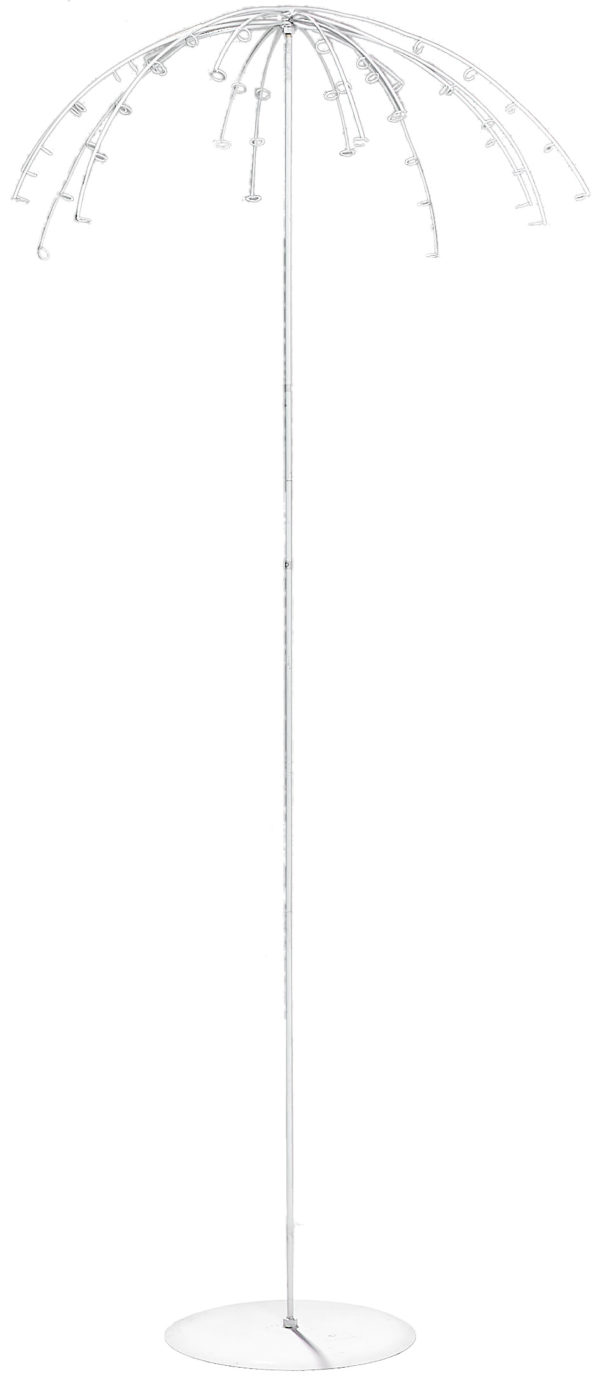 Espositore ad ombrello con pianta d.90 h. 180 cm