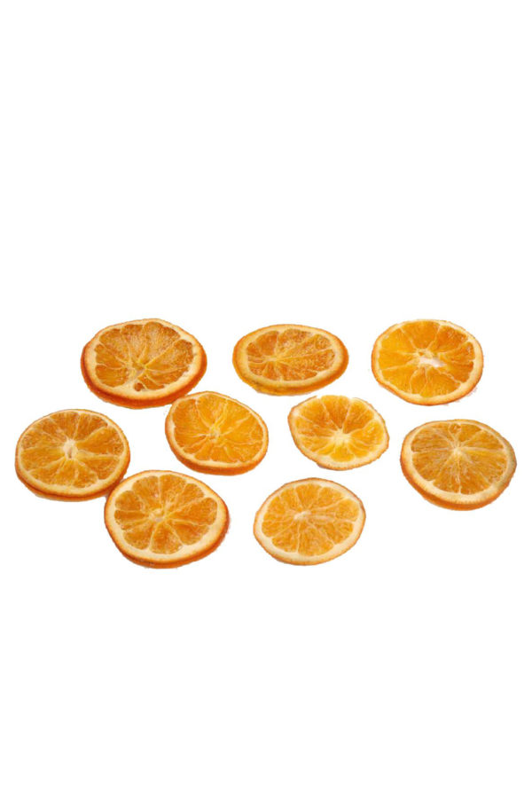 Box x 250gr fette d'arancia naturali stabilizzate