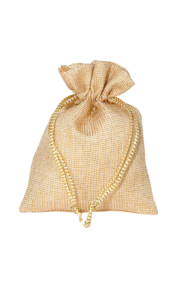 Bustina-sacchetto oro Set 10 pz 17 x 24 cm