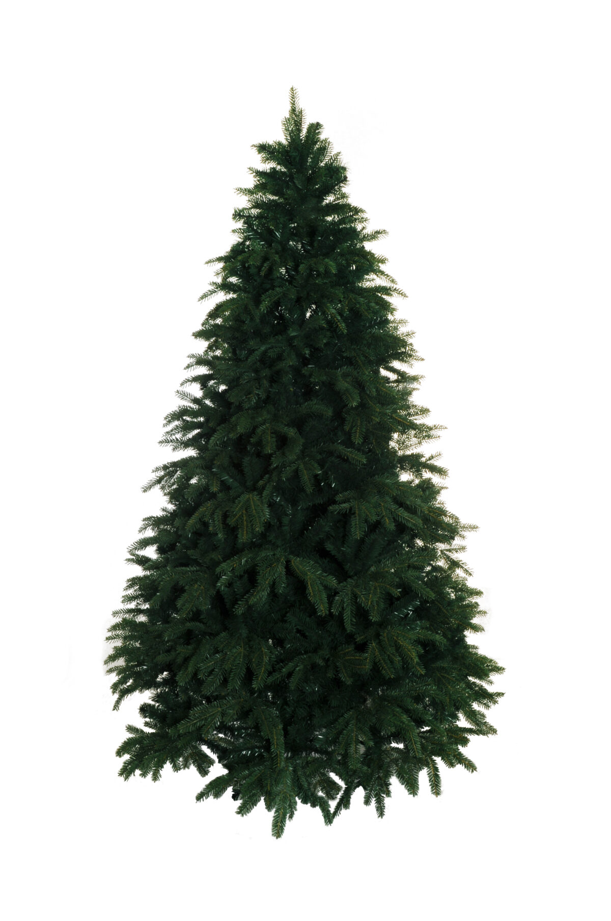 Albero di Natale in pvc d. 134 cm, h. 210 cm