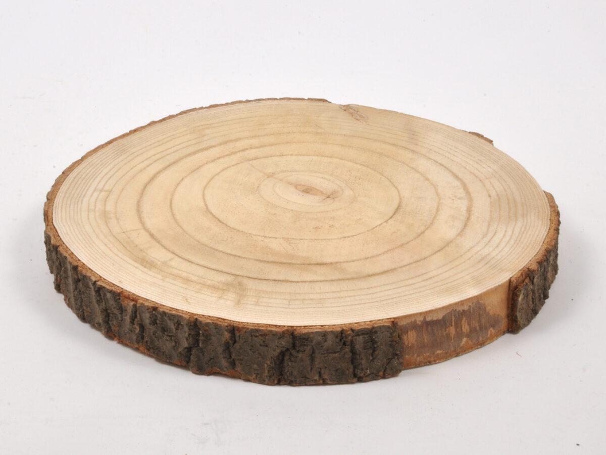 Legno naturale a fetta 35cm