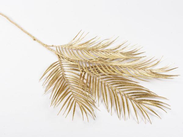 Ramo di palma x 4 oro 74cm