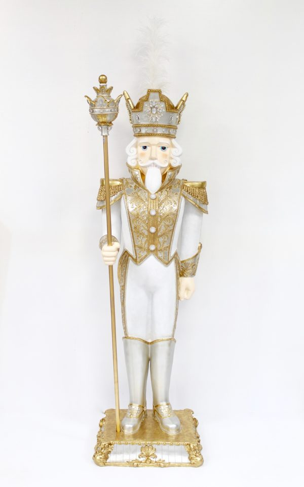 Soldatino barocco 19x15,4 h. 66,5cm