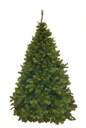 Albero di Natale modello classico a ombrello h. 195 cm d. 140 cm