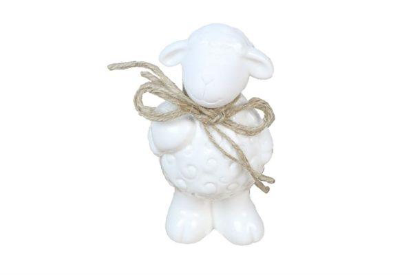 Pecorella decorativa in ceramica 6,5 x 12,5 cm