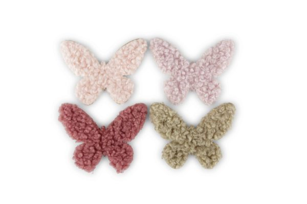 Set x 120 farfalle con supporto adesivo d. 5 cm