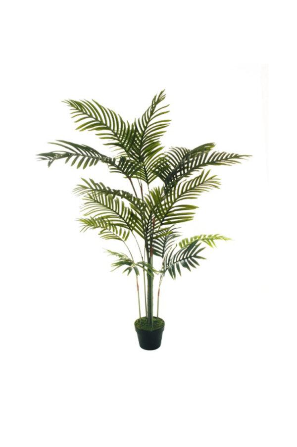 Pianta artificiale kenzia palma areca con 16 foglie in vaso h. 150 cm