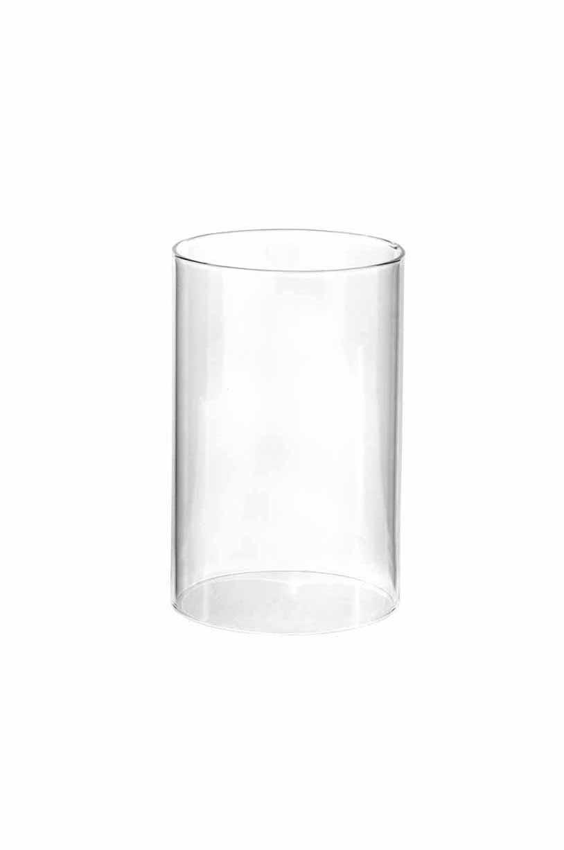 Parafiamma per portacandele in vetro d.12 h. 15cm