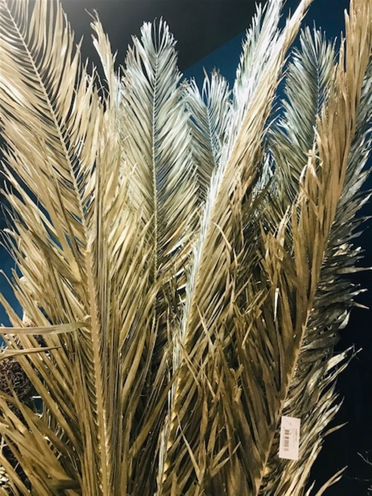 Foglia di Palma Phoenix artificiale platino h. 170 cm
