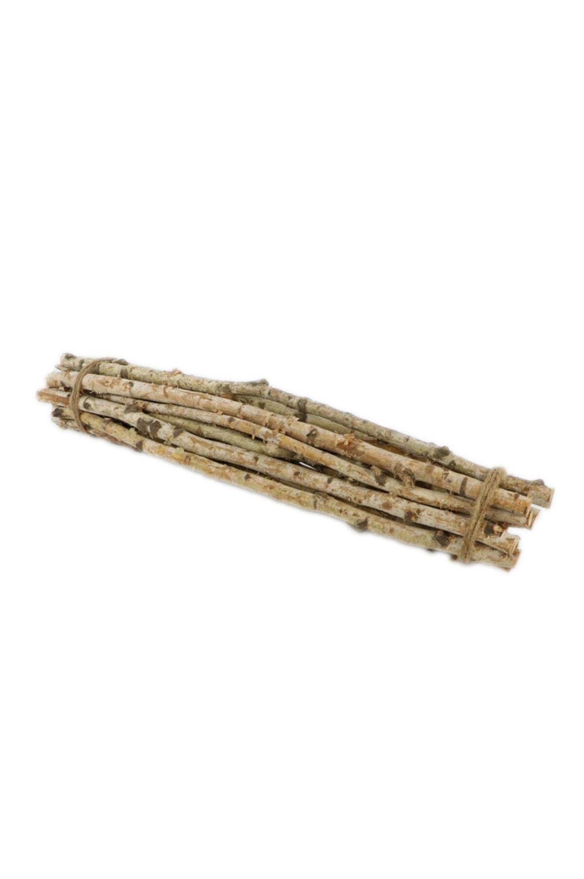 Fascio di 15 pz di legno di betulla naturale l. 40 cm