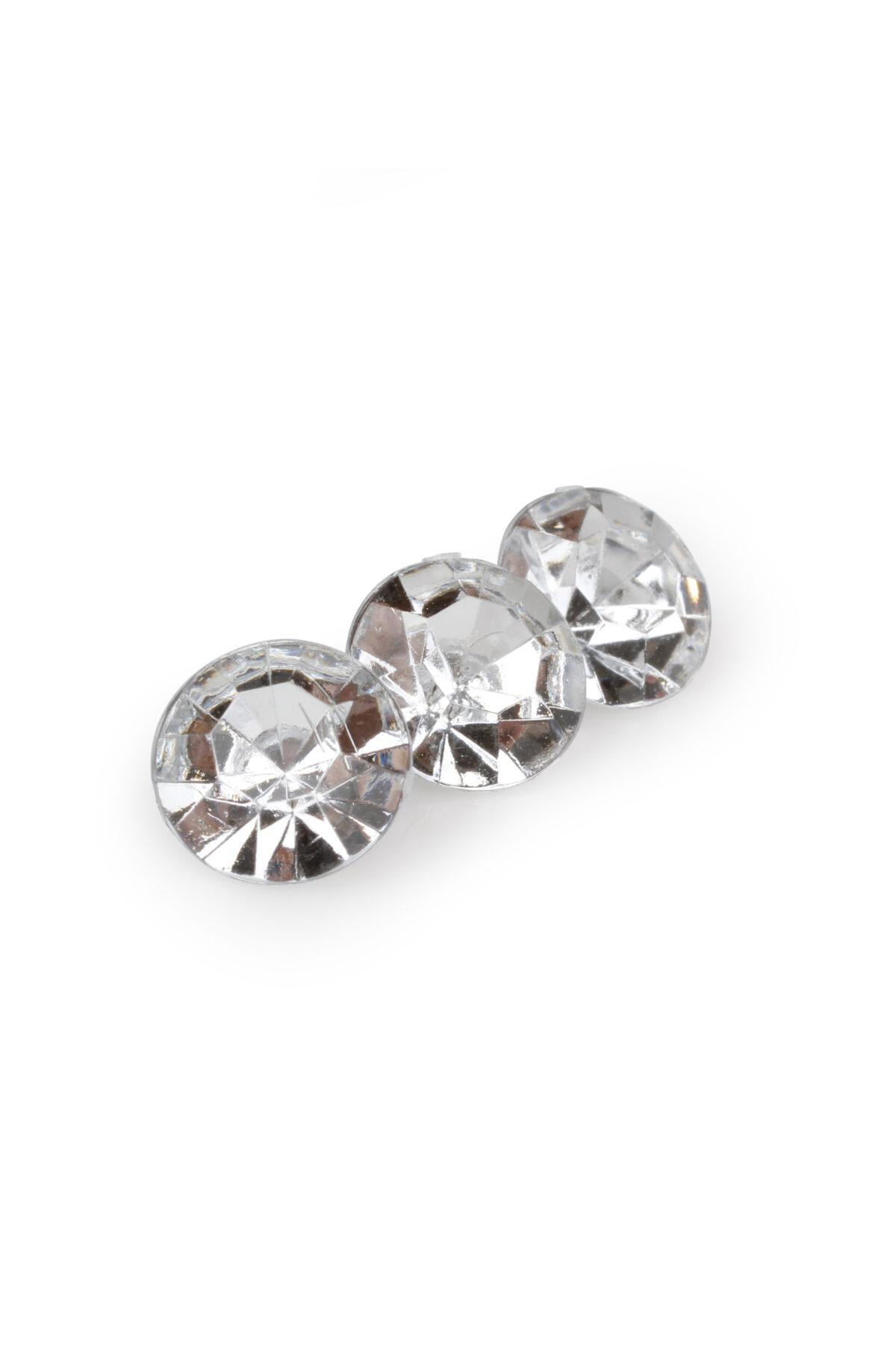 Conf. 400/100 gr diamanti strass decorativi d. 1 cm