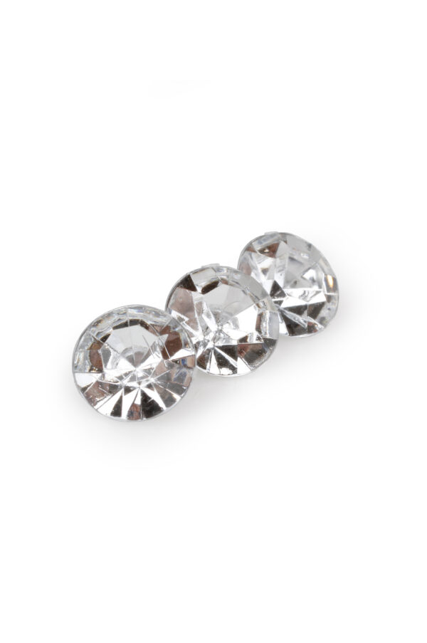 Conf. 400/100 gr diamanti strass decorativi d. 1 cm