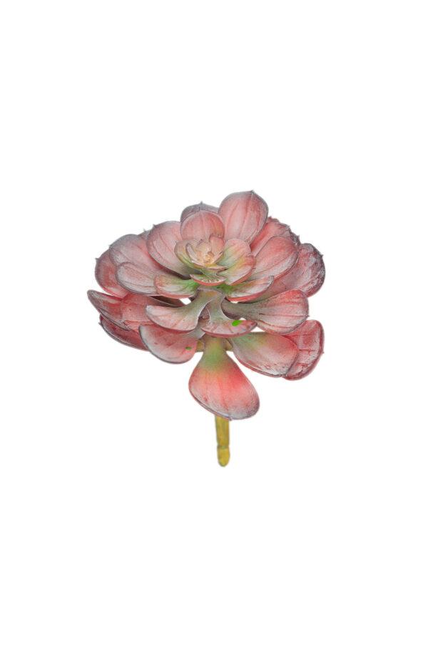 Pianta grassa artificiale color burgundy da invasare 15 cm