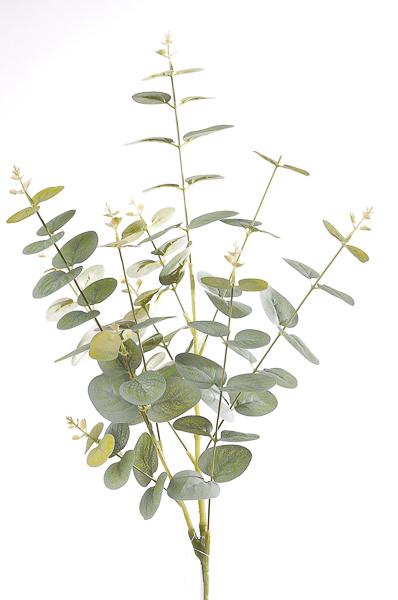 Mazzo di Eucalipto artificiale verde 27 x 84 cm