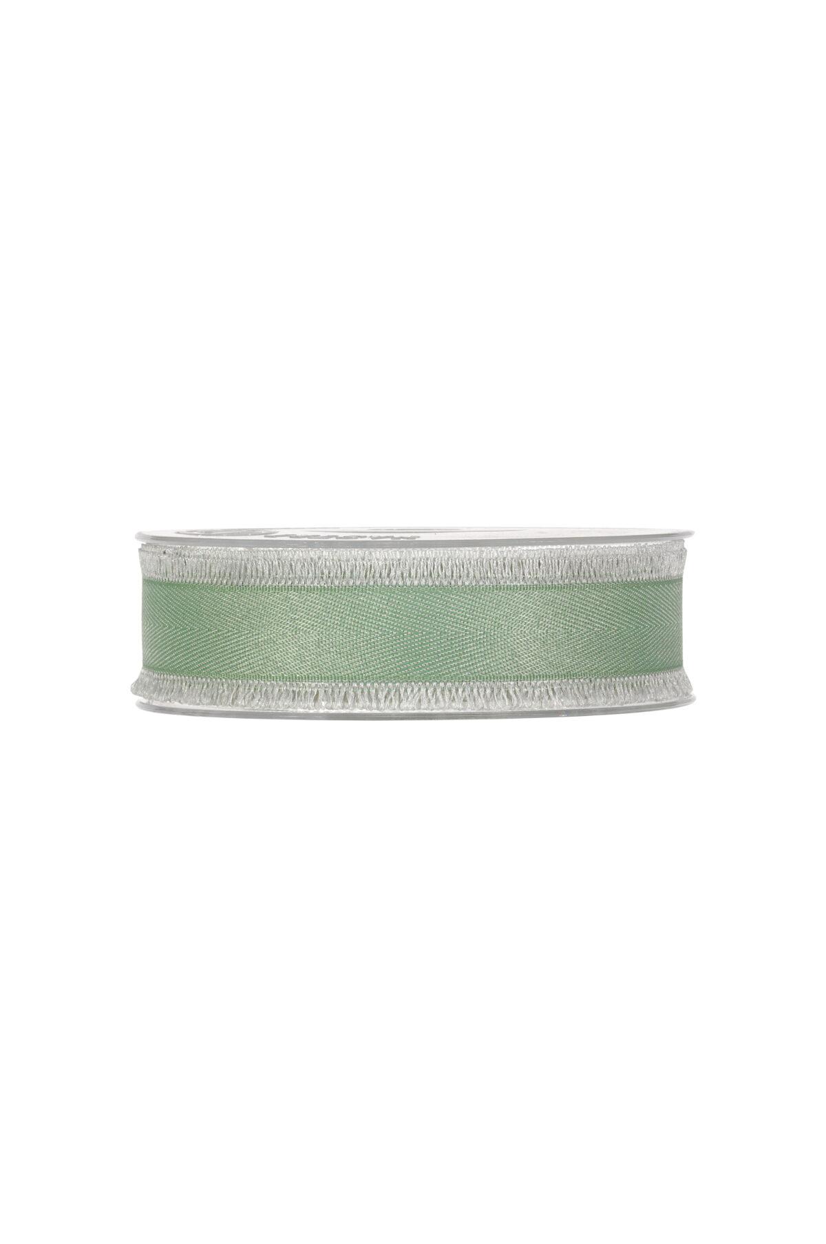 Nastro con frange verde 25 mm x 15 mt