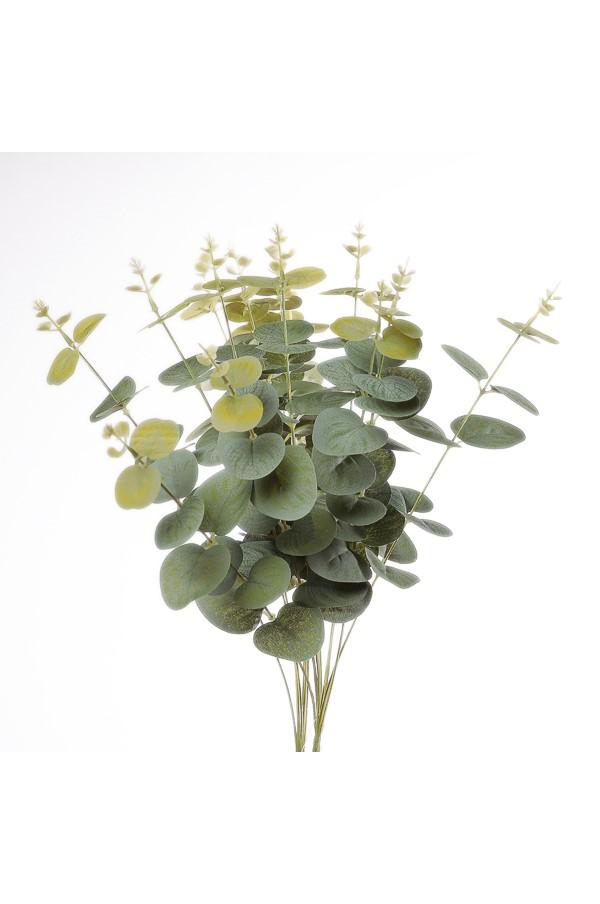 Mazzo di Eucalipto artificiale verde 46 cm