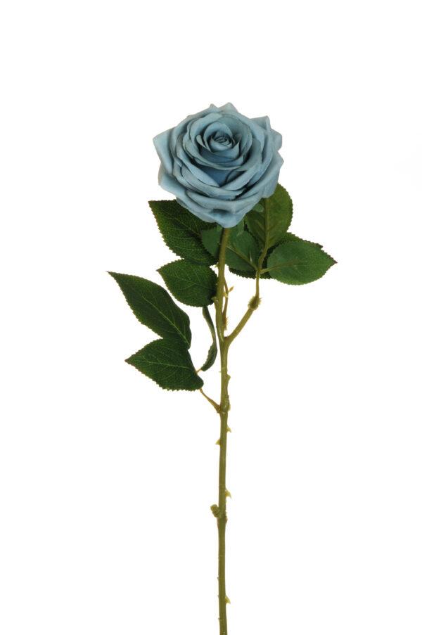 Stelo Rosa dell'Ecuador artificiale color celeste polvere 65 cm