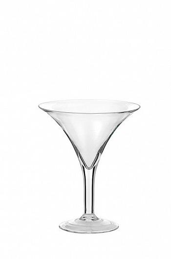 Vaso coppa martini in vetro trasparente h. 30 d. 25 cm