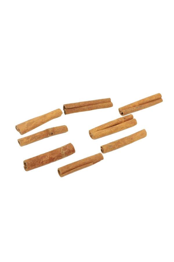Confezione 500 gr stecche di cannella secca e stabilizzata 8 cm