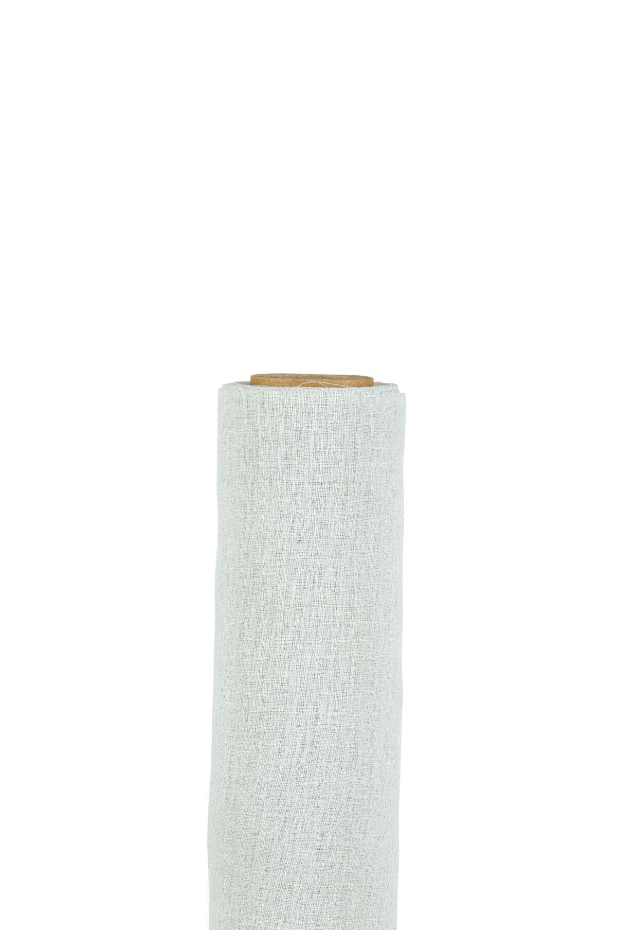 Runner in tessuto morbido color argento 70 cm x 5 mt