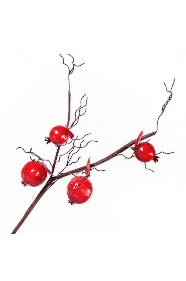 Ramo con Melograni color rosso